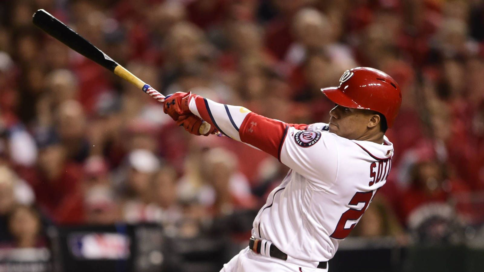 Watch Nationals Juan Soto Uncorks Two Run Moonshot In Game 2 Of Nlds Soto National Washington Nationals