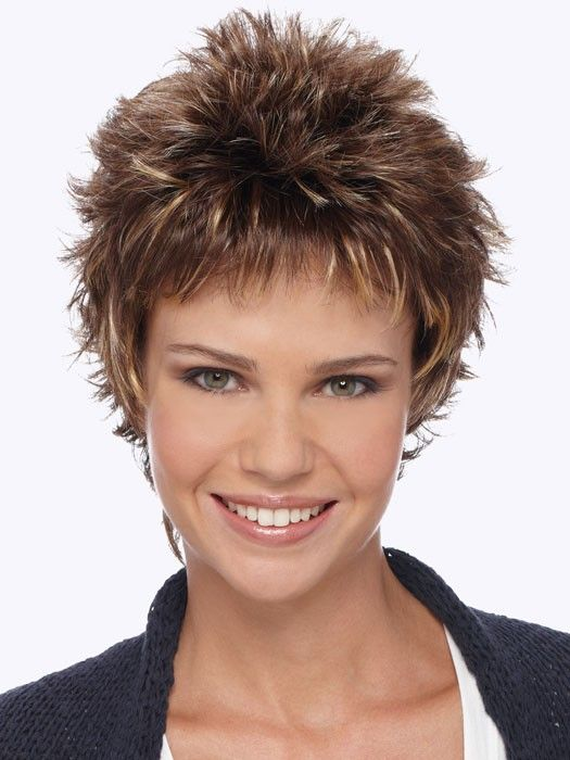 Demi Petite By Estetica Short Spiky Hairstyles New
