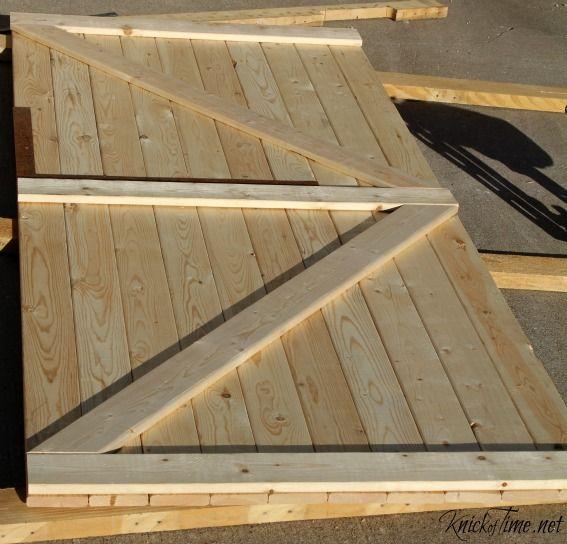 Building Barn Doors our diy barn door | sliding barn doors, diy barn door and barn doors