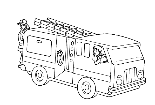 Free Printable Fire Truck Coloring Pages For Kids Firetruck Coloring Page Truck Coloring Pages Coloring Pages