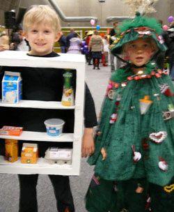 køleskab / juletræ