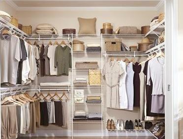 Organizing Your Closet Home Walk In Closet Design