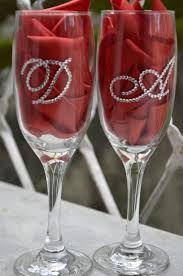 Resultado de imagem para taças decoradas vinho