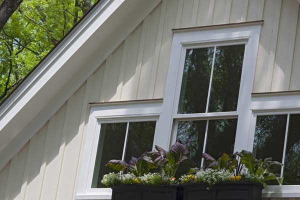 Enhance Your House With Fiber Cement Siding Vertical House