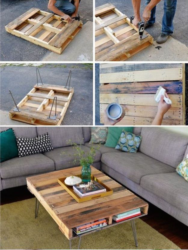 20 The Most Easiest DIY Pallet Furniture Tutorials That ...
