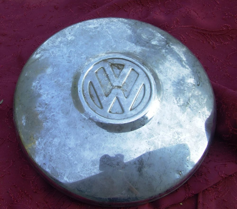 #Vintage VW Hubcap Karmann Ghia  Beetle Bus ORIGINAL VW hubcap #Volkswagen original  this is now for sale on ebay super cheap