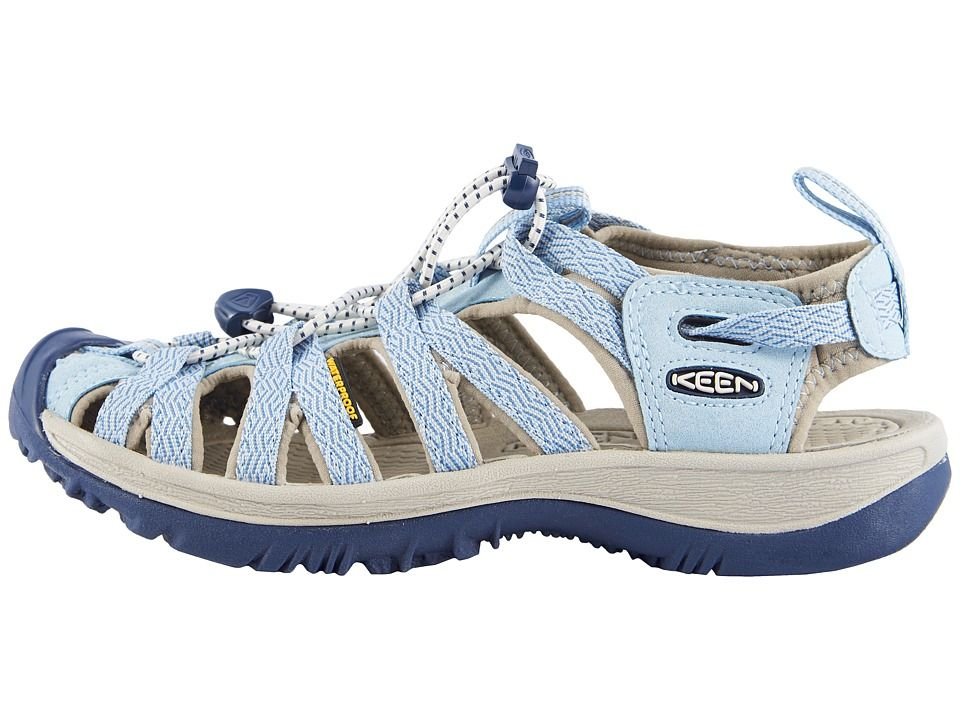 5d9eac5dd794 Keen Whisper Women s Sandals Sterling Blue Dress Blue