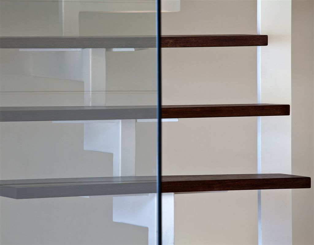 The Bright Apartment - staircase detail - by Stirixis Exclusive