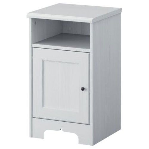 Ikea Aspelund Nightstand White For Sale