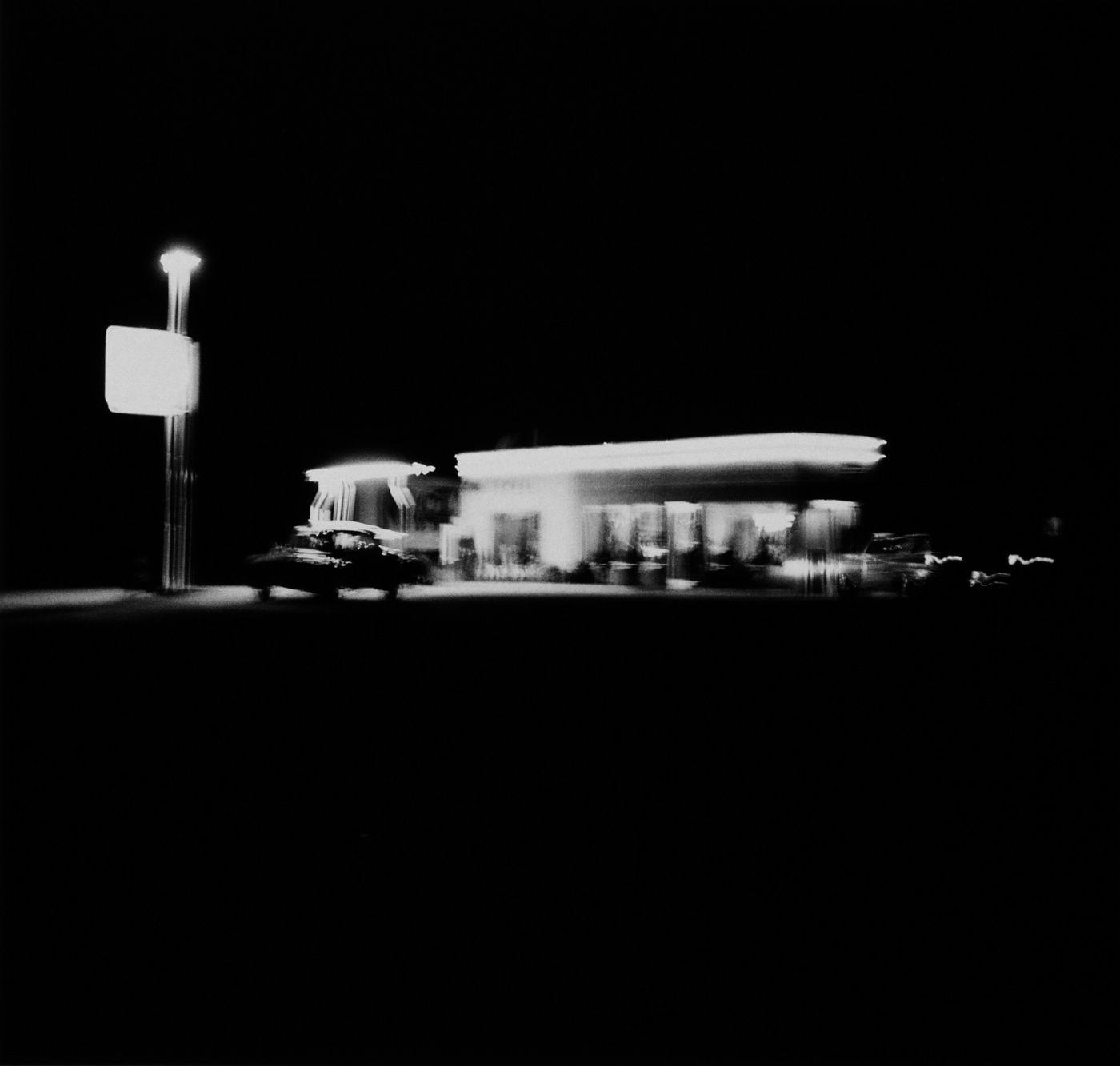Ed Ruscha, Shell Station, Daggett, CA, 1962.