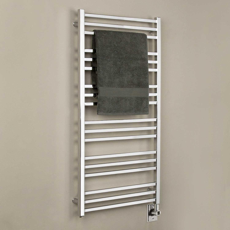 Bathroom towel heater - 24 Miletos Extra Tall Hardwired Towel Warmer