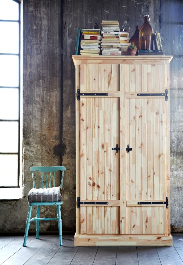 l armoire fjell chez ikea wood pinterest armoire penderie penderie et maison. Black Bedroom Furniture Sets. Home Design Ideas