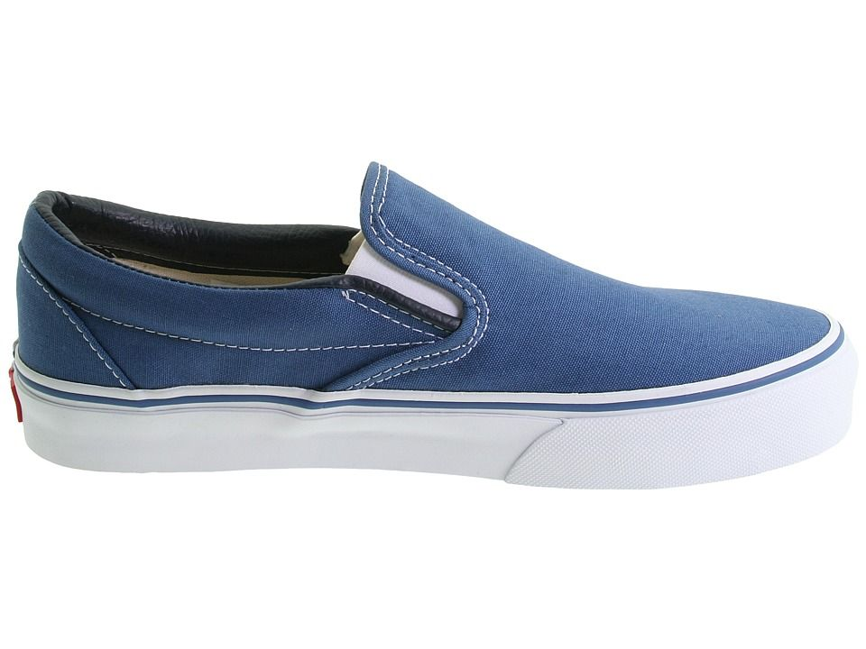2aa7d2fcc4b2 Vans Classic Slip-Ontm Core Classics Shoes Navy (Canvas)