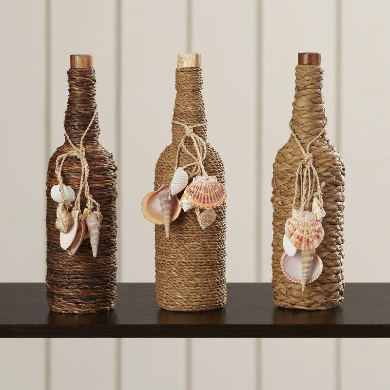 Morrow Decorative Bottle Set