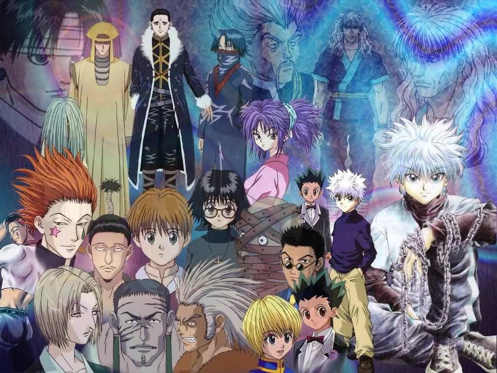 The All Characters Hunter X Hunter Anime Wallpaper Hd Dekstop