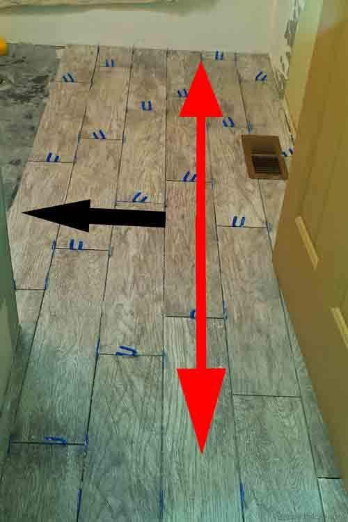 More Tips Tricks And Tools For Installing Wood Look Tile Flooring