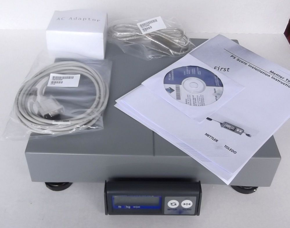 Mettler Toledo Ps60 Parcel Scale Shipping Up To 150 Lb