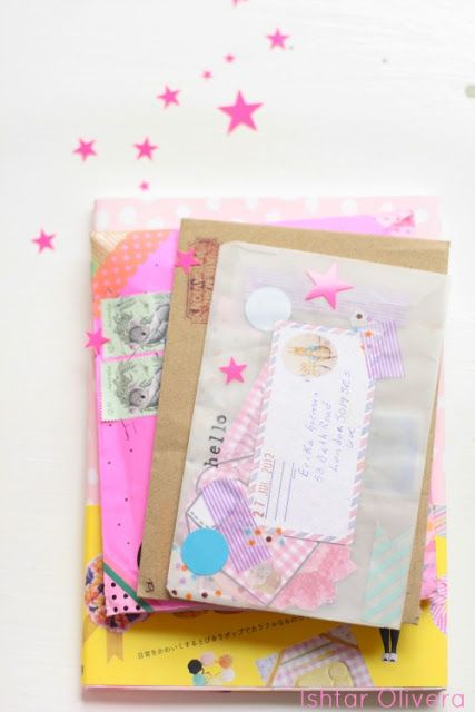 cute packages, parcels, snail mail, packaging, envelopes, stamps, stickers, mail art, decorative postage stamps, penpal, outgoing, incoming, #happymail #happymailproject #letter #snailmail #stamp #mailart