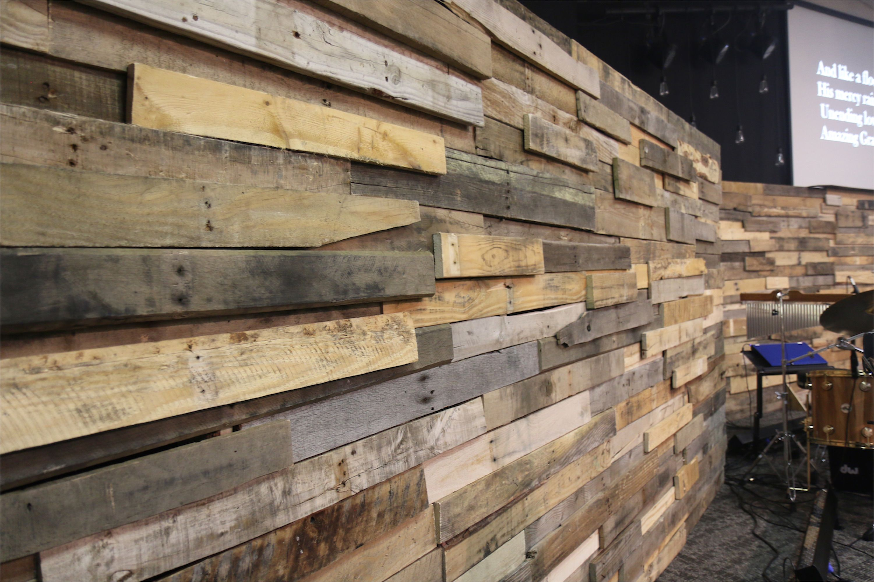 Wide Wall | Church Stage Design Ideas | wood walls ...