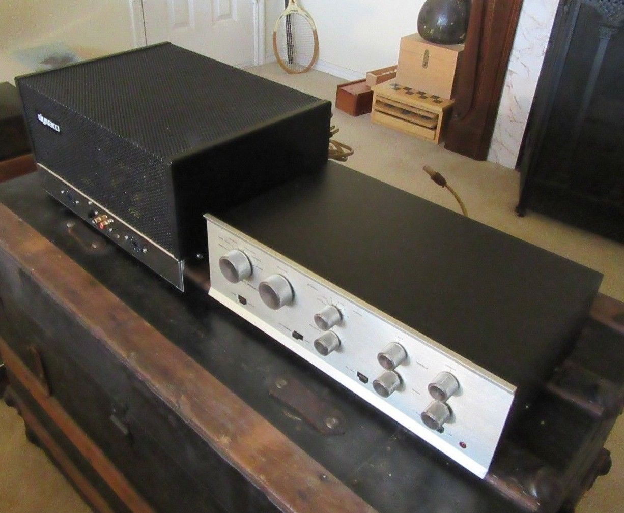 Dynaco St 70 Stereo Tube Amp With Pas 3 Preamp Both Rebuilt Vintage New Tubes Vintage Electronics Stereo Vintage