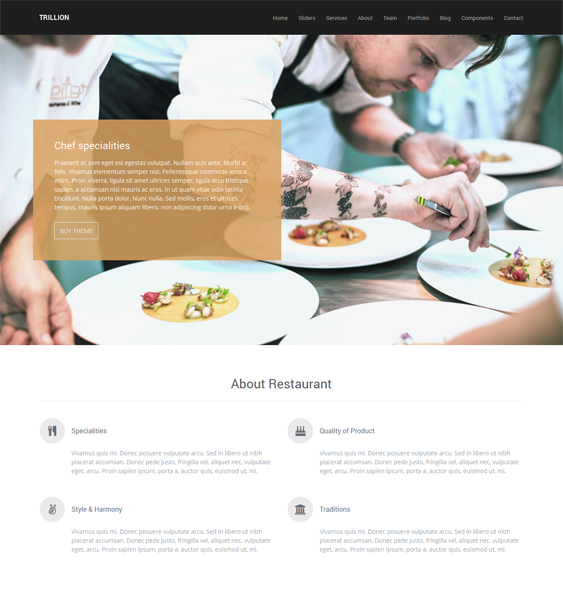 7 More of the Best WordPress Themes for Restaurants