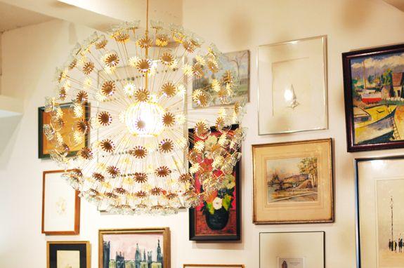 How to make your won #DIY sputnik chandelier - gorgeous - How To: Make A DIY Sputnik Chandelier Chandeliers, Diy Design