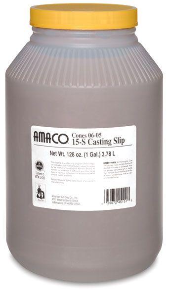 Amaco No 15s Casting Slip It Cast Plaster Molds Arts Crafts Supplies