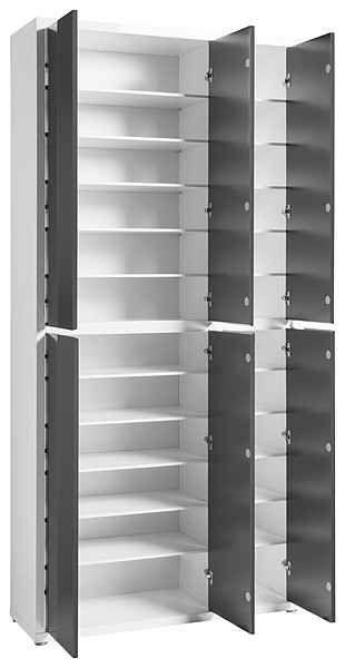 Hmw Schuhschrank Spazio Masse B T H 101 34 210 Cm Online Kaufen Schuhschrank Garderobe Schuhschrank Schuhschrank Hochglanz