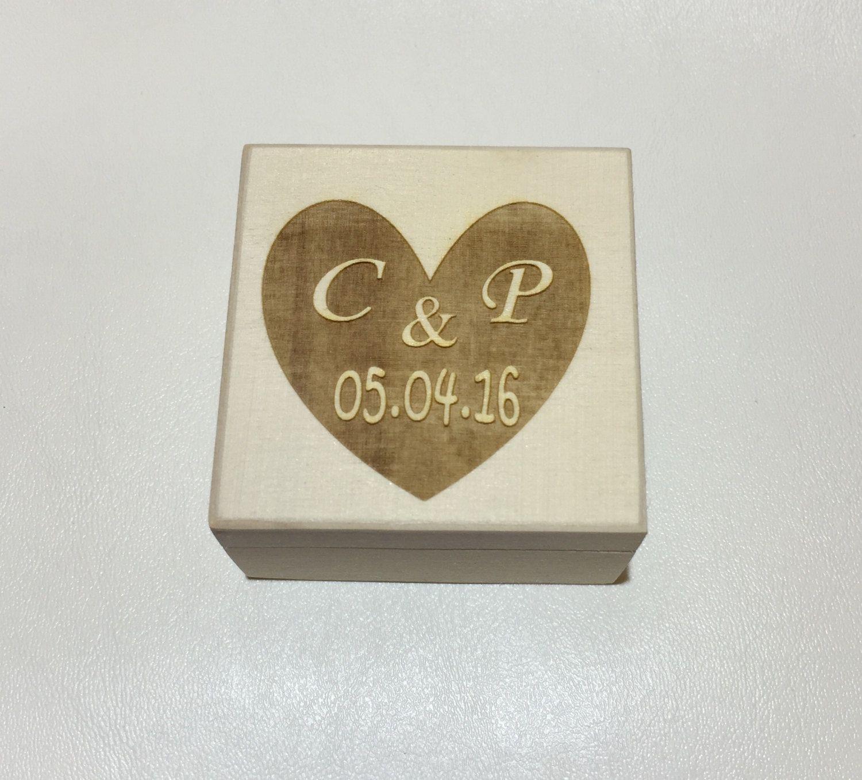 ring bearer box, wedding ring box, rustic vintage wedding ring