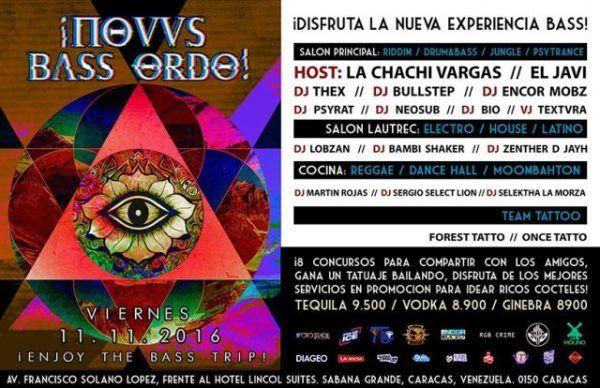"""El Molino presenta: """"Novus Bass Ordo"""" http://crestametalica.com/events/el-molino-presenta-novus-bass-ordo/ vía @crestametalica"""