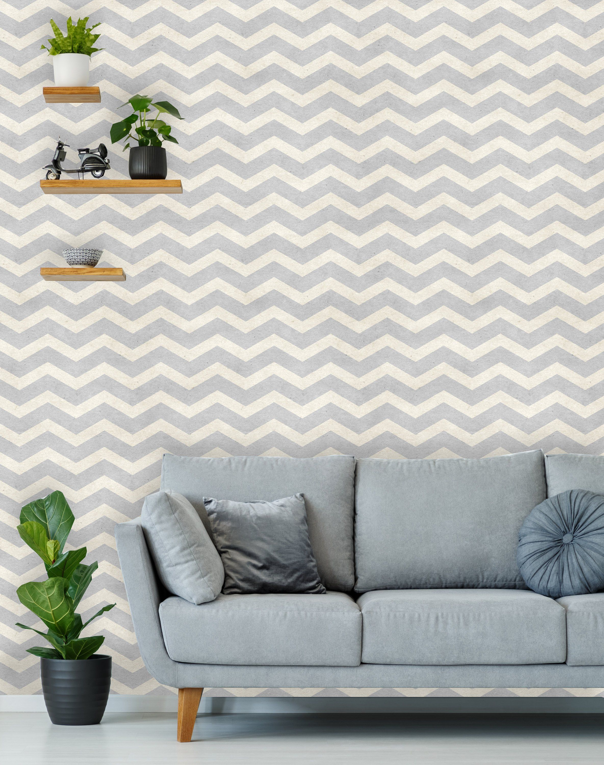 Removable Wallpaper Peel And Stick Chevron Wallpaper Self Etsy Paper Texture Wallpaper Removable Wallpaper Textured Wallpaper
