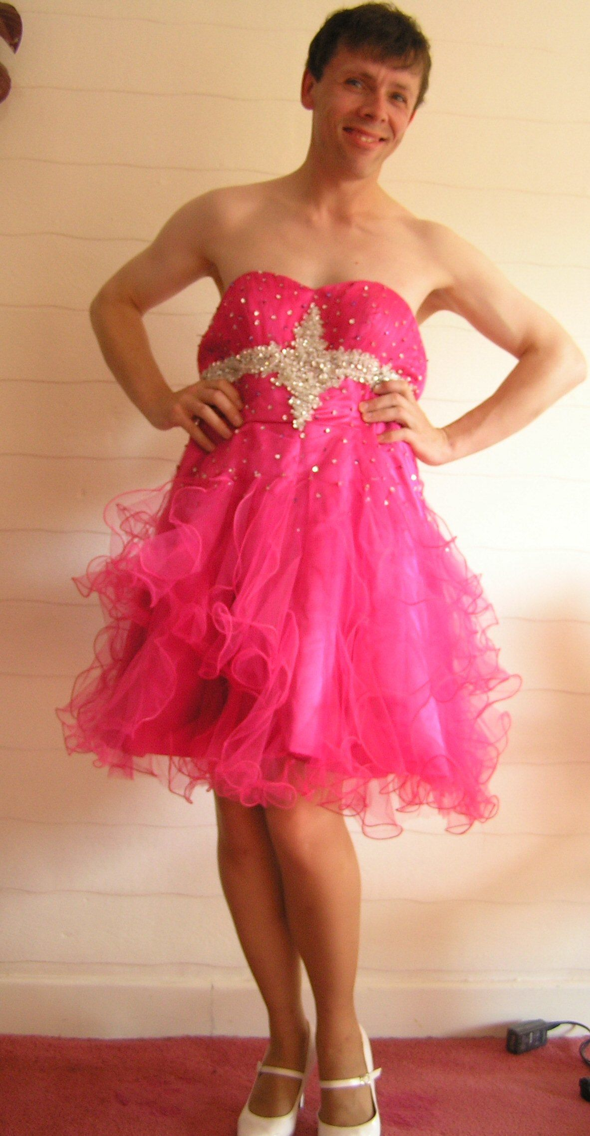 Strapless pink prom dress short style simply lovely gowns or