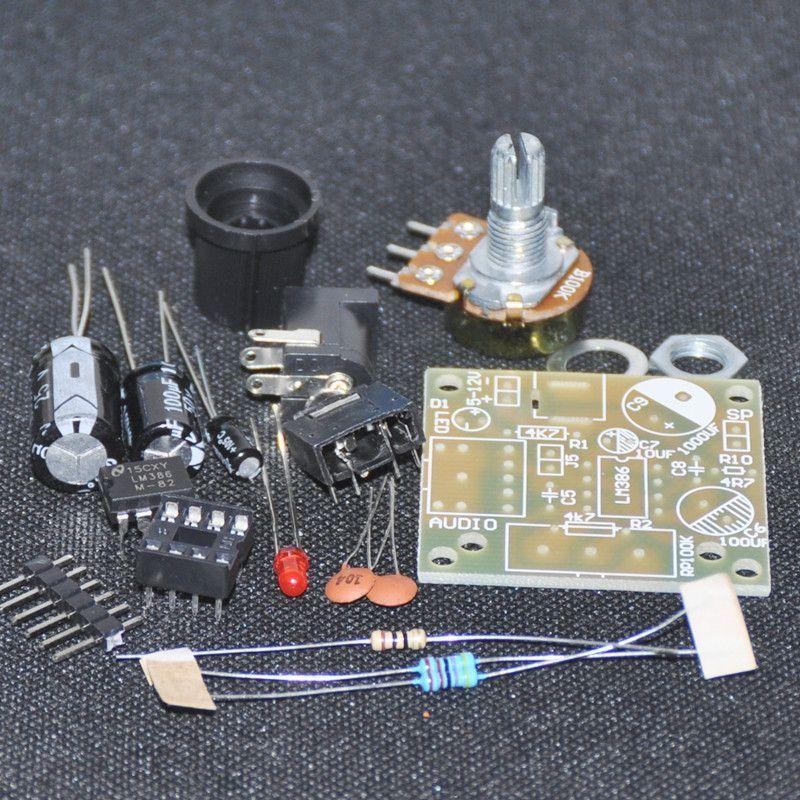 Diy Electronic Kit Lm386 Super Mini Audio Amplifier Diy Kit Suite