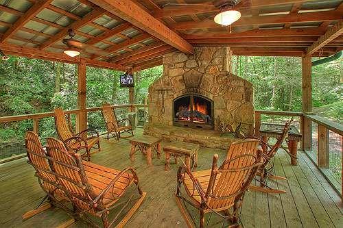 Superior Indian Creek 3 Bedroom Cabin At Parkside Cabin Rentals