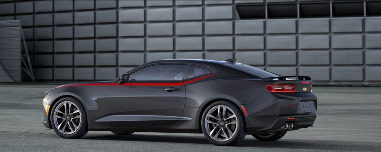 Camaro 2SS 2016 Side (Nightfall gray metallic) One
