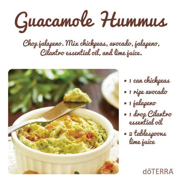Guacamole hummus essential oil food recipes pinterest picture of guacamole hummus recipe find this pin and more on essential oil food forumfinder Gallery