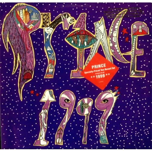 Prince 1999 Lp Cover Prince Album Cover Little Red Corvette Album Cover Art