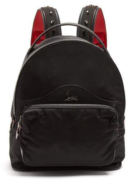 f3083b7dbdf Christian Louboutin - Backloubi Small Spike Embellished Backpack ...