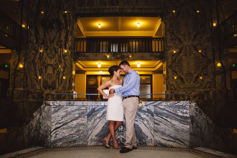 Harris County Courthouse wedding photos indoor couples