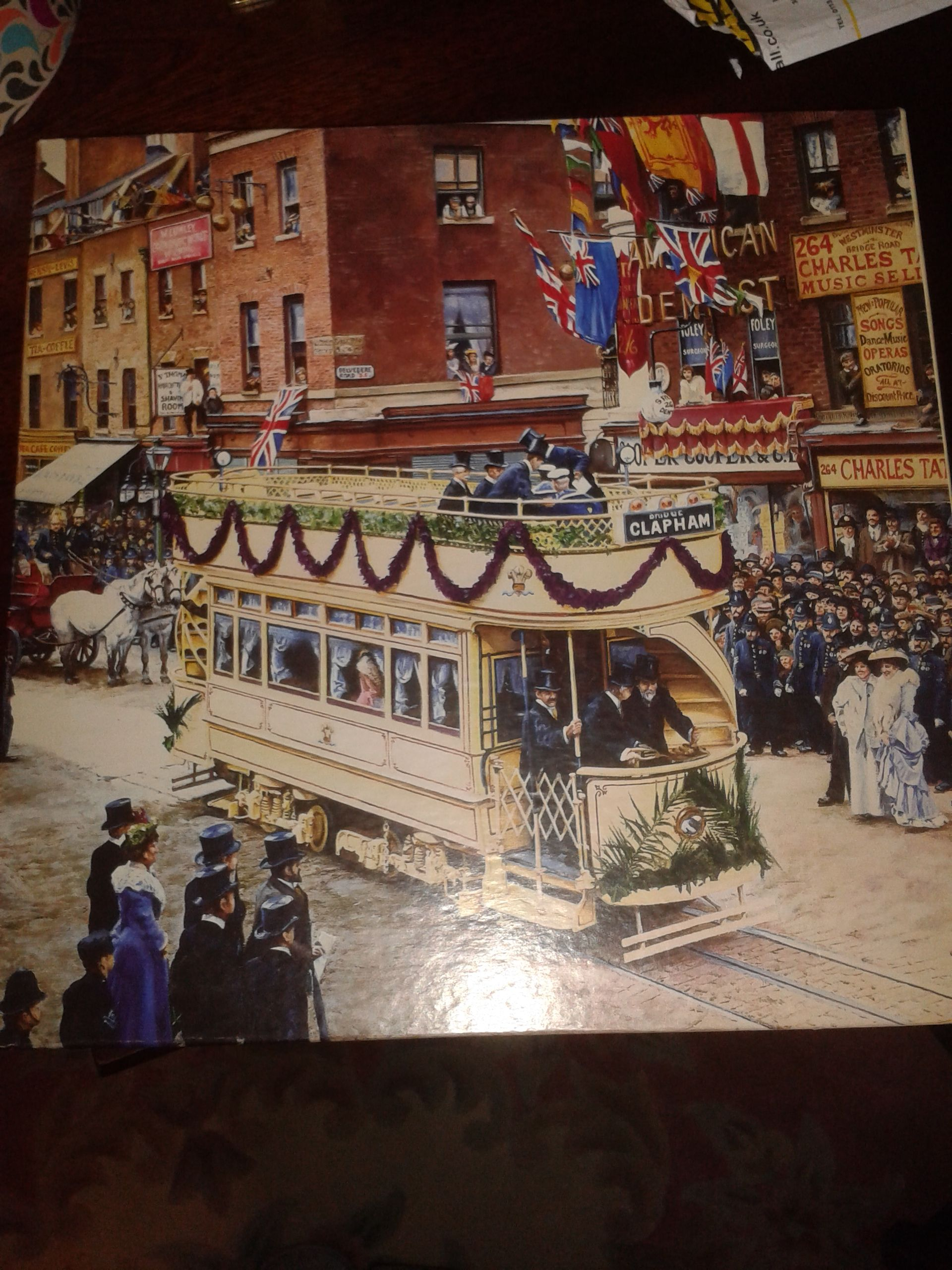1000 piece Heritage London's First Electric tram by Garry cartwright