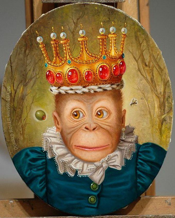 Корона смешные картинки, рождеством анимация
