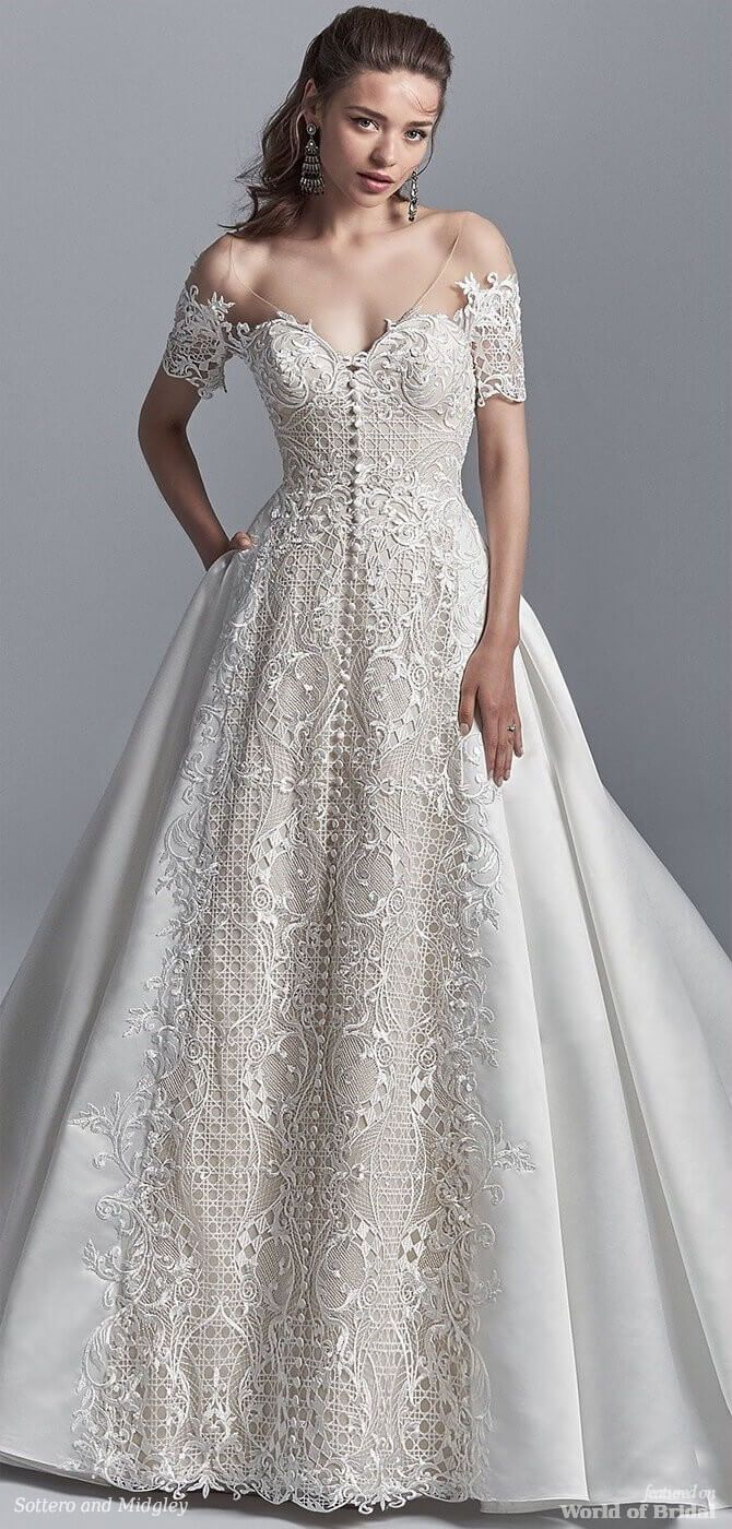 Sottero and midgley spring wedding dresses khloe collection