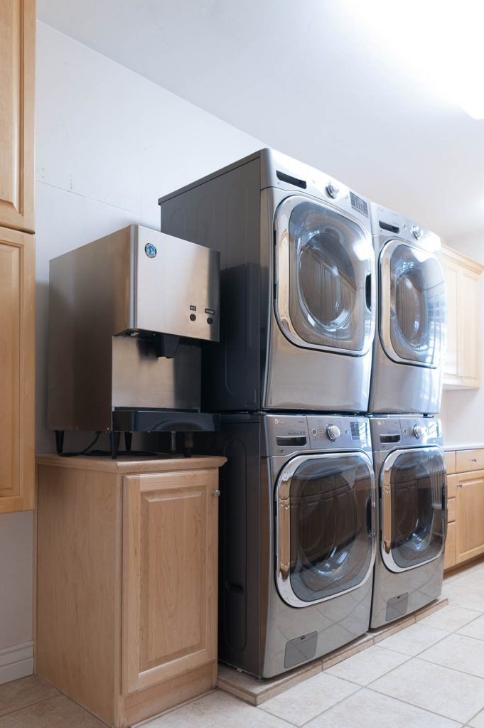 Plumbing for Double Washer and Dryer!?! A New trend? | Washer