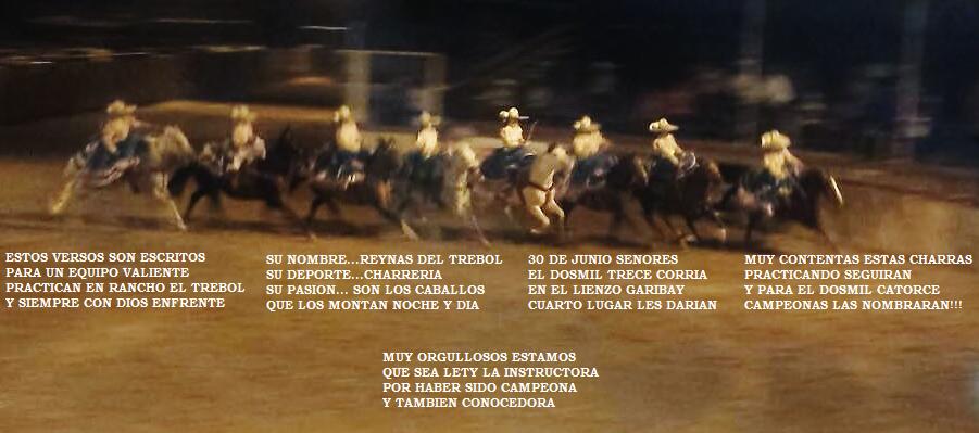 Escaramuza Reina Del Trebol El Paso Texas Ranch Movie