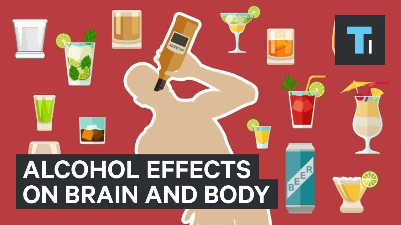 I Love This Video By Tech Insider Because Of The Way It Shows What Drinking Does To You Instead Of Jus Effects Of Alcohol Alcohol Health Education