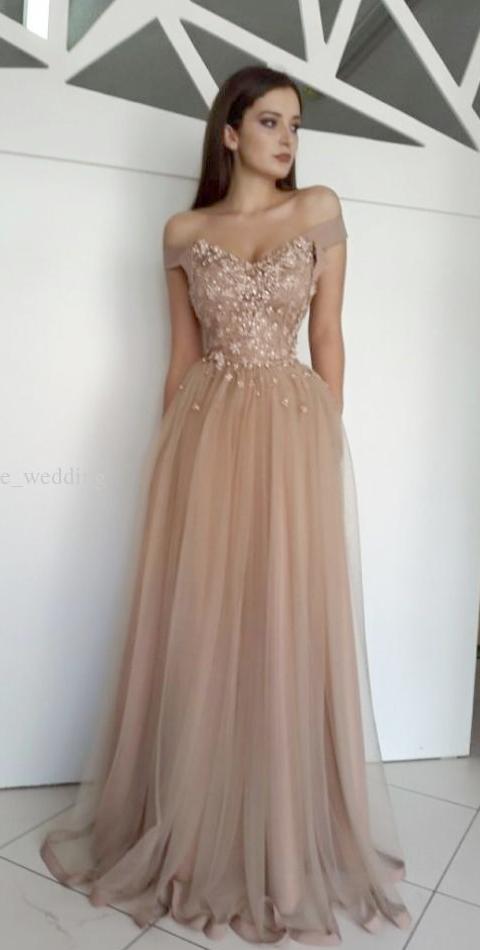 Evening Dress Gold Color Formal Dress Code For Men Formal Dresses