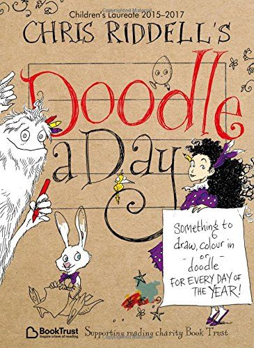 Chris Riddell's Doodle-a-Day by Chris Riddell http://www.amazon.co.uk/dp/1509816437/ref=cm_sw_r_pi_dp_MeOdwb007K7KC