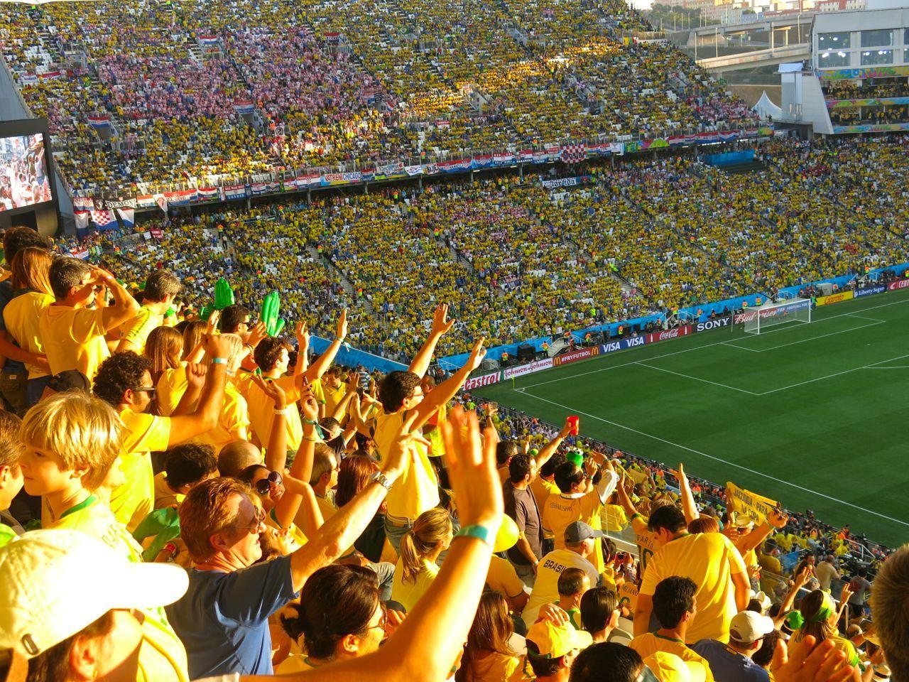 O Jogo De Abertura Da Copa Do Mundo 2014 Brasil X Croacia Carioca Dna Cariocadna Worldcup2014 Copa2014 Brasil2 Copa Do Mundo Copa Do Mundo 2014 Croacia
