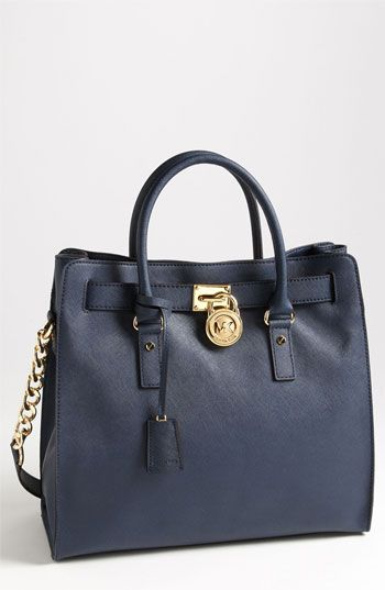 30fe81d88eac MICHAEL Michael Kors  Hamilton - Large  Saffiano Leather Tote available at   Nordstrom