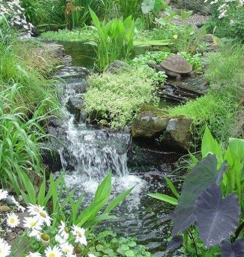 66 Relaxing Backyard Waterfalls For Your Outdoor Zones